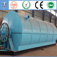 XD-8CAP Green High Effiency crude oil lube oil to base oil diesel recycling distillation plant