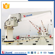 10ton pedestal marine crane used on deck