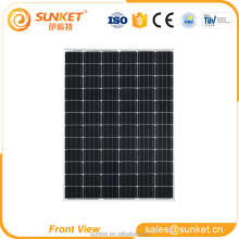 best price mono panel pv solar 175w amorphous silicon solar panel for small solar panel system