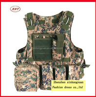 Army green Military equipment abu tactical vest
