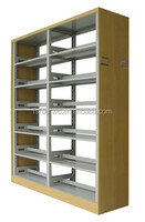 china factory double -side wood-board bookshelf furniture for study room