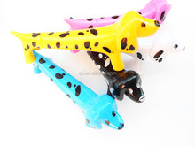 plastic lovely new design dog shaped promo pen cartoon ball pen