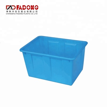Modern design plastic storage box plastic container shipping boxes