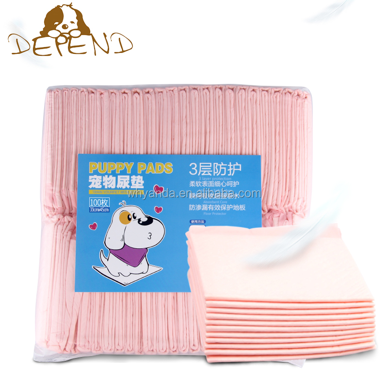 2.0KG Simple Packing Regular Puppy Pads House Potty Dog Training Pee Pads for Dogs