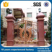 Pollution Free Grill Steel Main Gate Design For Home