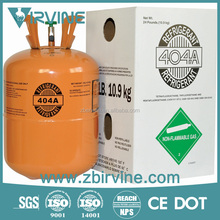 iso tank package r404 refrigerant gas for summer