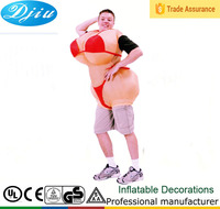 DJ-CO-141 Adult inflatable Breast bra big butt Sexy Women Costume