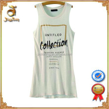 Most Popular Europe Style Ladies Sleeveless Summer T-shirt For Wholesale
