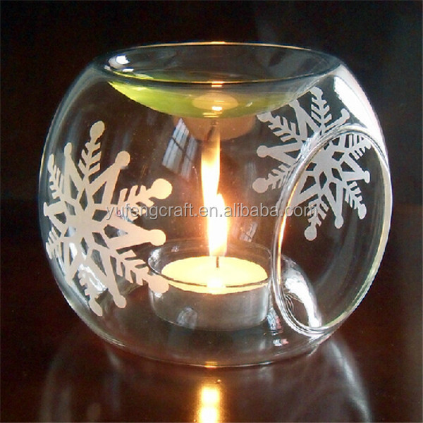 clear round electric tart warmers wholesale clear fillable ornament