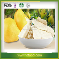 FD pear powder dehydrated pear freeze dried fruit pear