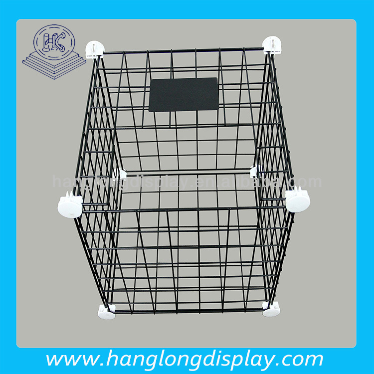 collapsible metal wire basket