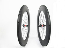 700c bike road clincher carbon fiber farsports 88mm wheels (DT240 straight pull)