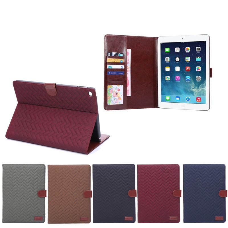 Magnetic Wallet tablet case for i pad air 2, for ipad air2 shells