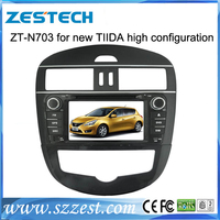 ZESTECH Wholesale in dash 2 din hd touch screen gps oem car multimedia system for Nissan Tiida gps navigation