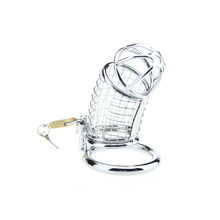 Stainless Male Chastity Device Cock Ring Penis Ring Lock