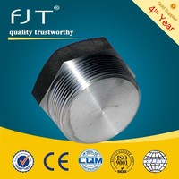 30mm high pressure stainless steel fittings steel lockable npt hex head plug