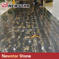 Newstar nero portoro black and gold marble,black potoro