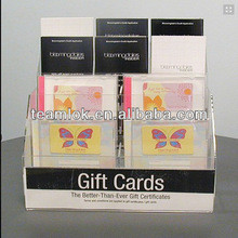 acrylic gift card holder,greeting card stand tabletop
