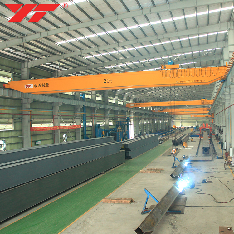 General Industrial Equipment electric overhead travelling bridge crane price