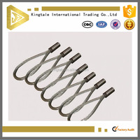 Stainless steel endless wire clamp sling for crane