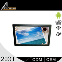 wall mounted advertising player flat screen tv