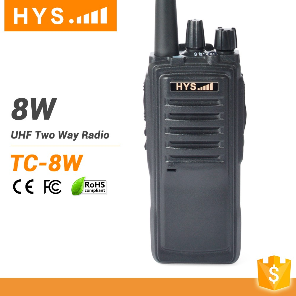 Long Range Amateur Radio RF 50 Watts VHF UHF FM Transceiver Dual Band Mobile Radio