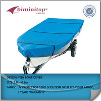 "NEW 4 Season Brand Deluxe Bimini Top Boat Cover 46""h x 73""-78""w 6' L ROYAL"
