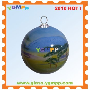 Sell YGM-B57 Inside Hand Painted Christmas Decoration