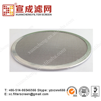 2014 CANTON FAIR Multi-layers metal sintered filter disc/disk