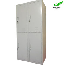 China Luoyang Factory Hot Sale 4 Door Four Compartment Extra Wide closets locker