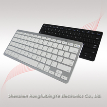 Fashionable ABS ultra-thin Bluetooth Wireless Keyboard for Apple iPad 2/3/4 iMac PC