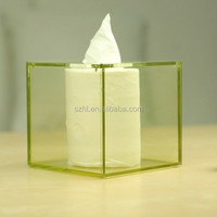 Practical Home & Hotel Decoration clear acrylic tissue box
