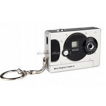 300K pixels cheap drivers mini digital camera with keychain,1.3M pixel by interpolation