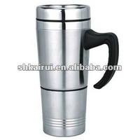 double wall promotional stainless steel advertising auto mug