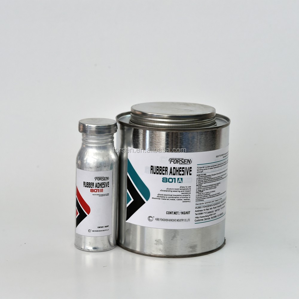 Chloroprene synthetic rubber liquid adhesive for bonding rubber, leather