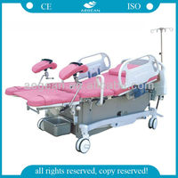 2013 hot sale AG-C101A03 surgical electric labor delivery bed