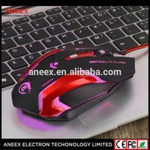 High Quality USB Wired Optical Driver Gaming Mouse For Gamer