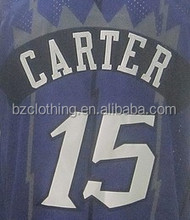 Vince Carter #15 Toronto Throwback Purple Basketball Jersey