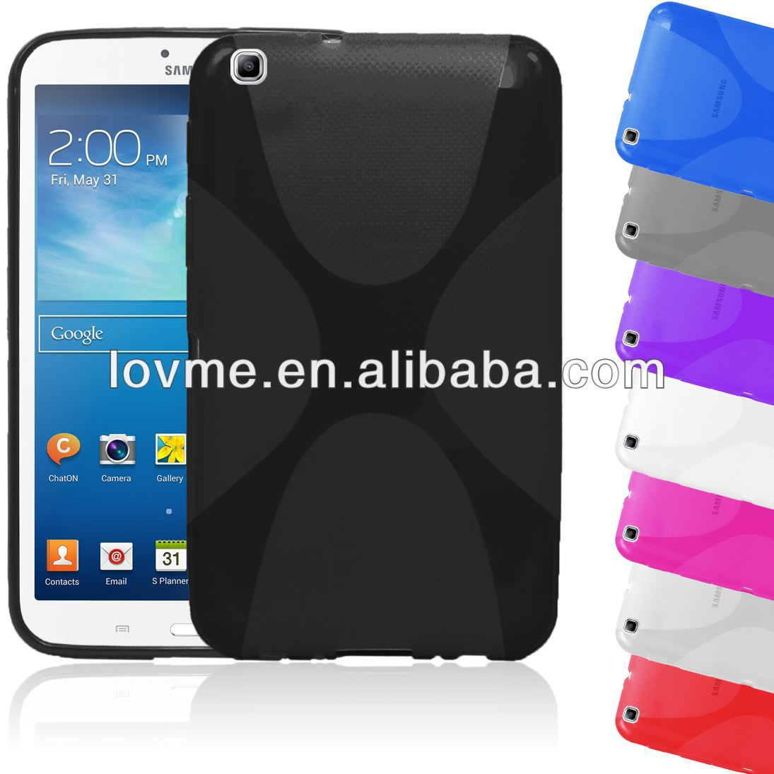 X-LINE BACK CASE FOR SAMSUNG GALAXY TAB 3 8.0""