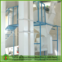 Full automatic factory price mini rice mill project report