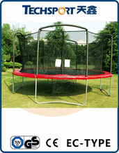 Trampoline Combo Bounce Jump Safety Enclosure Net Round Outdoor BackYard