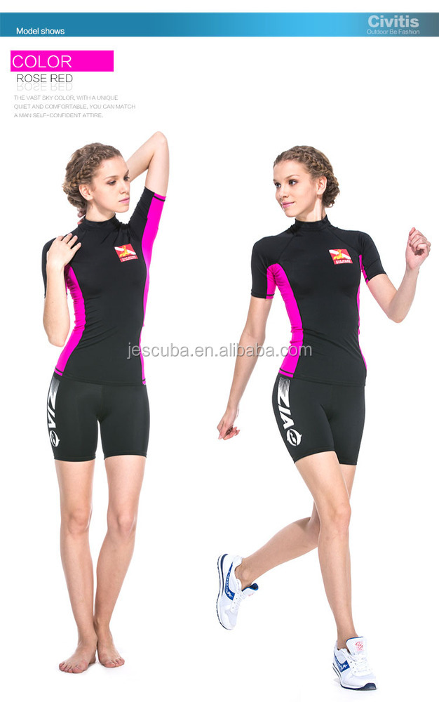 Lycra UV Protection Swim Suit for Womens