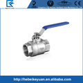 "1/2"" NPT 304 stainless steel Full Port ball valve for homebrewing"