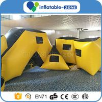 Inflatable laser tag bunkers inflatable paintall bunker pvc paintball bunkers