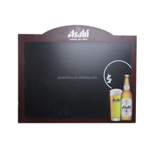 wall chalkboard with wood frame custom logo blackboard menu sign
