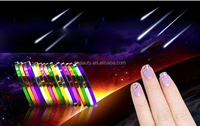 DIY Nail Tips Rolls Striping Tape Line Nail Art Decoration Sticker 30Pcs Multicolor Mixed Nail Sticker