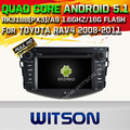 WITSON Android 5.1 DOUBLE DIN CAR DVD RADIO GPS For TOYOTA RAV4 2008-2011 WITH CHIPSET 1080P 16G ROM WIFI 3G INTERNET DVR