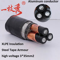 JKV.JKLV or JKLHV--Copper alumnum or aluminum alloy conductor PVC Insulated Aerial Insulated Cable