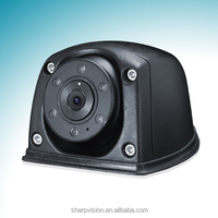 Waterproof color front rear view car camera