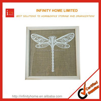 Sturdy Design Dragonfly Shape Wall Decoration Pictures